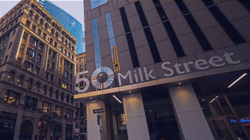 Ecodocx office building in Boston Massachusetts on Milk Street