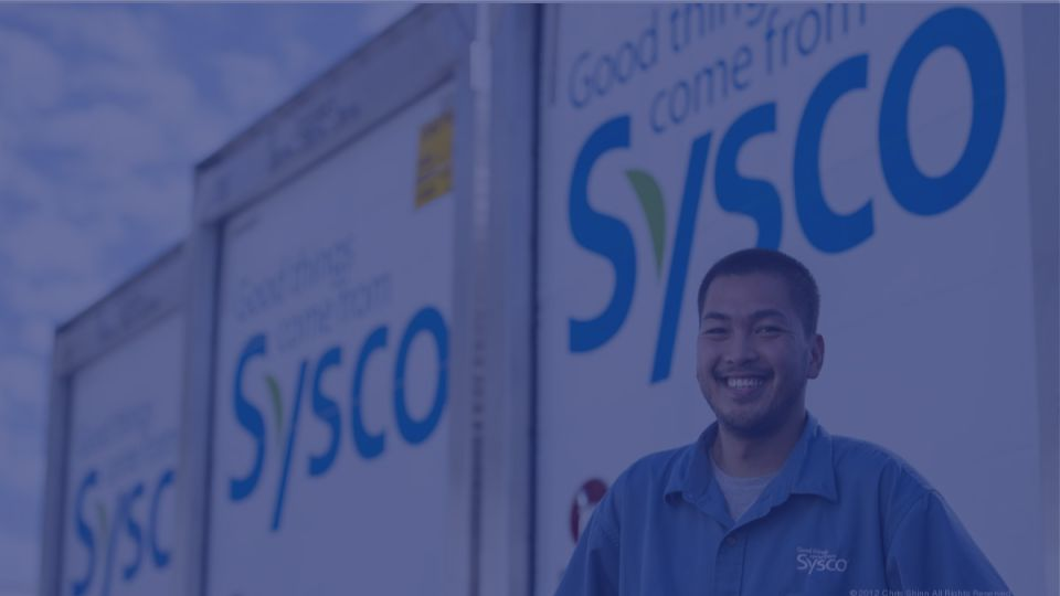 sysco leading food and beverage distributor recognized end of support of opentext products