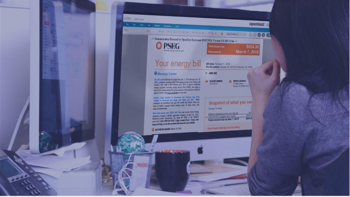 OpenText Exstream Training for PSEG