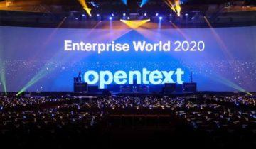 register for opentext world digital 2020